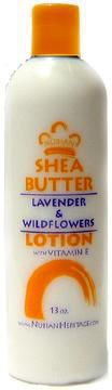 Nubian Heritage - Shea Butter Lotion, Lavender & Wildflowers