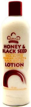 Nubian Heritage - Honey & Black Seed Lotion With Apricot Oil