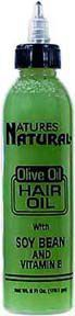 Natures Natural - Olive Oil, Hair Oil W/ Soybean