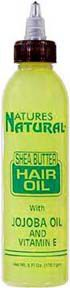 Natures Natural - Shea Butter Hair Oil